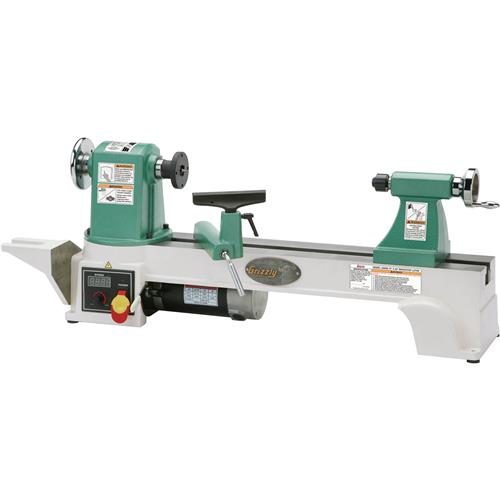 G0658 Grizzly 12 X 20 H D Bench Top Wood Lathe New Ebay